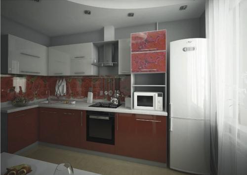 Кухня МДФ 18