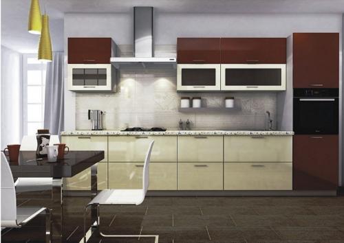 Кухня МДФ 4