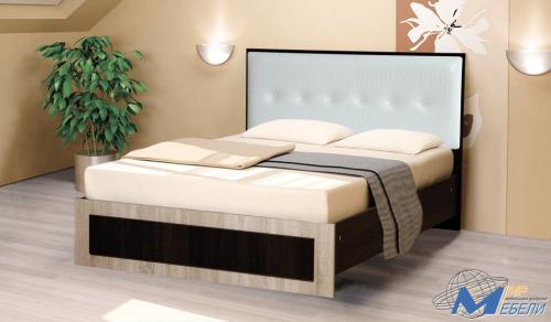 Кровать-с-мягк-изголовьем1.2*1.86 Цена 90001.4*1.86 Цена 95001.6*2.0 Цена 10300Цвета  ЛДСП на выбор, матрац входит в стоимость.